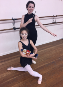 Sienna Guillot will dance the role of Clara with Taylor Gautreaux as the Sugar Plum Fairy in Fellom Ballet's 9th Annual Traveling Nutcracker Dec. 2-3. Guillot attends St. Joseph Catholic School and Gautreaux attends Hammond High Magnet School.